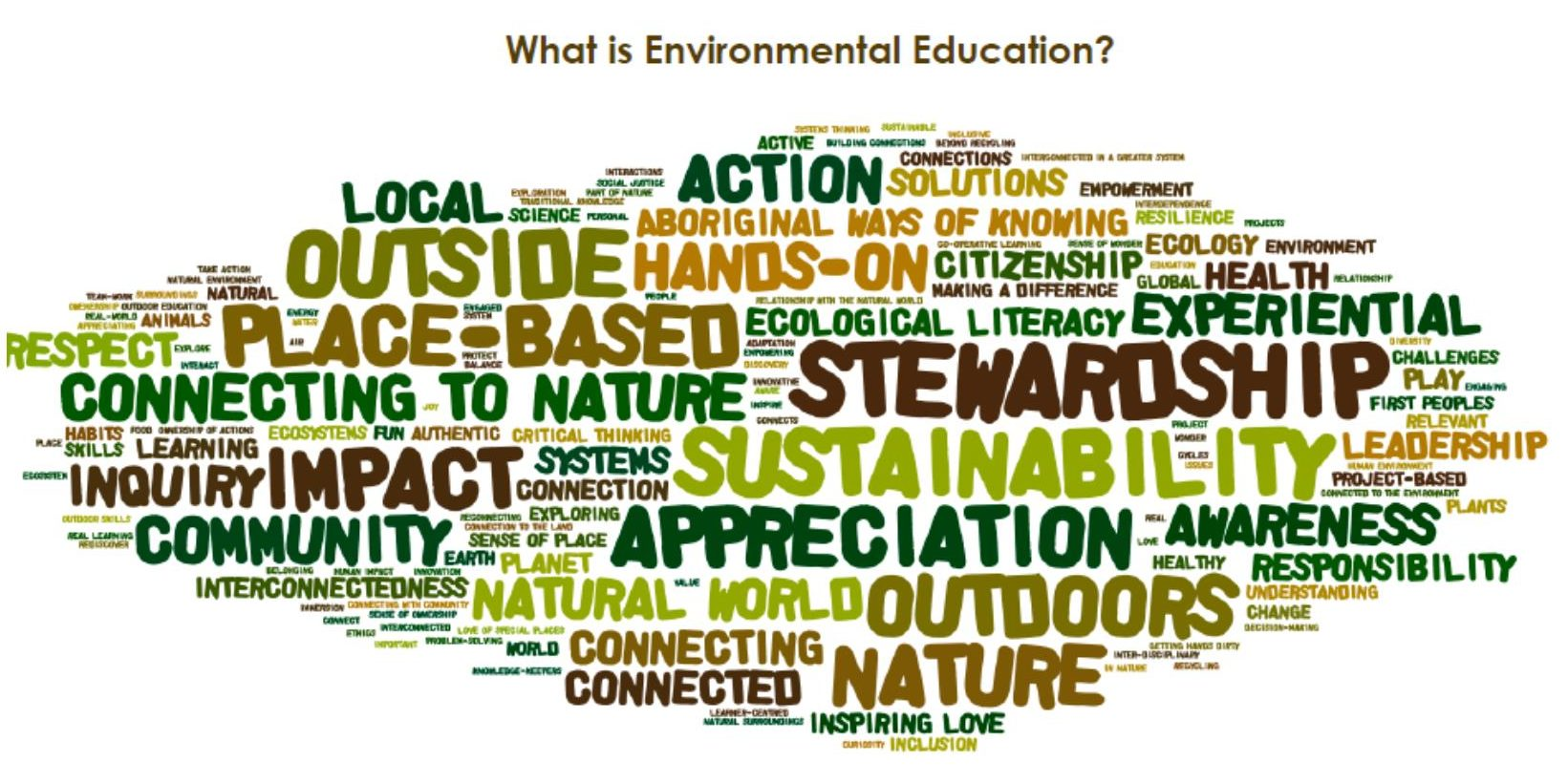 Image result for education about the environment