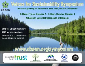 CBEEN 2015 Voices for Sustainability Symposium