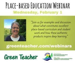 Place-based Education Webinar Promo