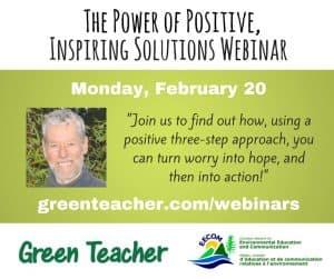 The Power of Positive, Inspiring Solutions webinar